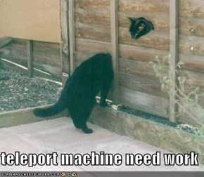 teleport machine need work
