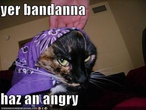 yer bandanna  haz an angry
