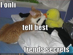 I onli tell best frends secrets