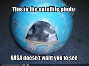 This is the satellite photo