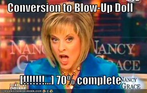 Conversion to Blow-Up Doll  [!!!!!!!...] 70% complete
