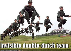 invisible double-dutch team