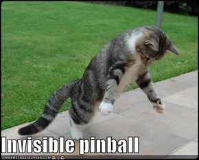 Invisible pinball