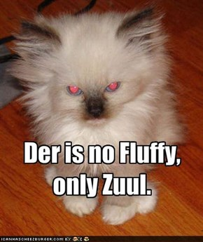 Der is no Fluffy, only Zuul.