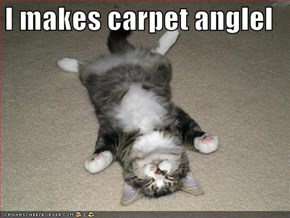 I makes carpet anglel