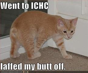 Went to ICHC  laffed my butt off.