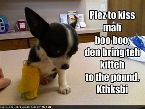 Plez to kiss mah 