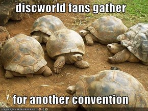 discworld fans gather  for another convention