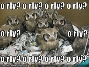 o rly? o rly? o rly? o rly?  o rly?                            o rly? o rly? o rly? o rly? o rly?