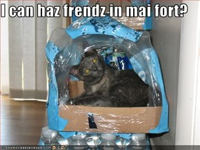 I can haz frendz in mai fort?