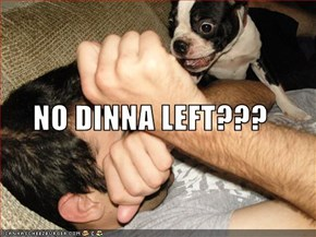 NO DINNA LEFT???