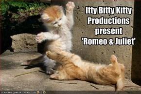 Itty Bitty KittyProductionspresent'Romeo & Juliet'