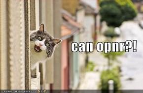 can opnr?!