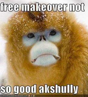 free makeover not   so good akshully