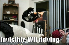 invisible Wii driving