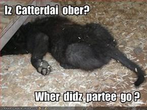 Iz  Catterdai  ober?