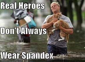 Real Heroes Don't Always Wear Spandex