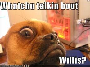 Whatchu talkin bout  Willis?