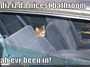 diz iz da nicest bathroom  ah evr been in!