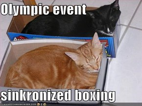Olympic event  sinkronized boxing