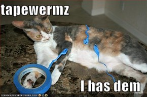 tapewermz  I has dem