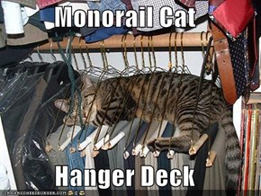 Monorail Cat  Hanger Deck