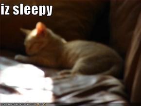 iz sleepy