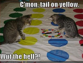 C'mon, tail on yellow.  Wut the hell?!