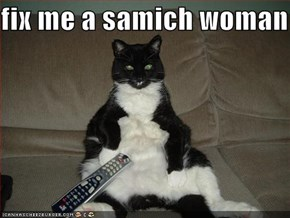 fix me a samich woman