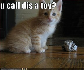 u call dis a toy?