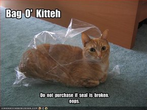 Bag  O'  Kitteh
