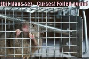 Ebil Maus sez    Curses! Foiled again!