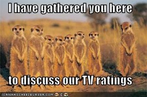 I have gathered you here  to discuss our TV ratings