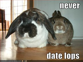 never  date lops