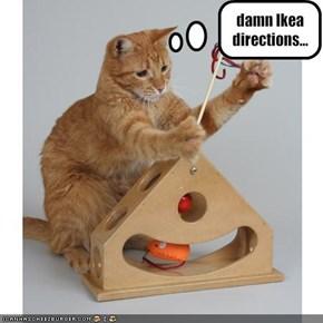 damn Ikea directions...