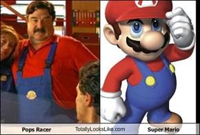 Pops Racer TotallyLooksLike.com Super Mario