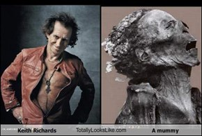 Keith Richards TotallyLooksLike.com A mummy
