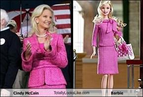 Cindy McCain TotallyLooksLike.com Barbie