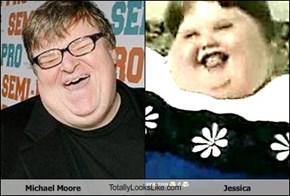 Michael Moore TotallyLooksLike.com Jessica