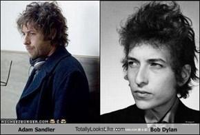 Adam Sandler TotallyLooksLike.com Bob Dylan