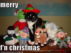 merry  f'n christmas