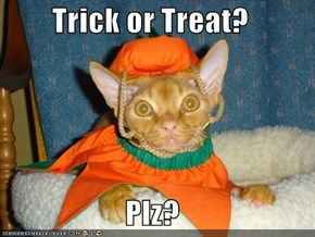 Trick or Treat?  Plz?