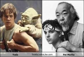 Yoda TotallyLooksLike.com Pat Morita