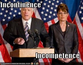 Incontinence  Incompetence