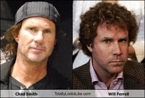 Chad Smith TotallyLooksLike.com Will Ferrell