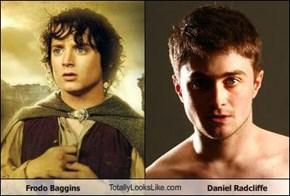 Frodo Baggins TotallyLooksLike.com Daniel Radcliffe