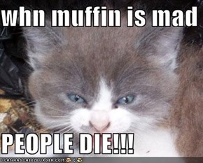 whn muffin is mad  PEOPLE DIE!!!