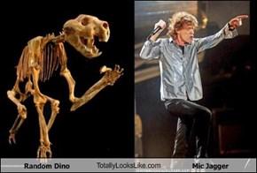Random Dino TotallyLooksLike.com Mic Jagger