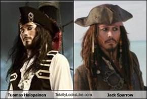 Tuomas Holopainen TotallyLooksLike.com Jack Sparrow