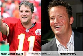 Kansas City Chiefs quarterback Damon Huard TotallyLooksLike.com Matthew Perry
